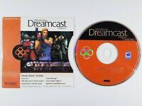 ¤ Official Magazine January 2000 Vol.3 Demo Disc ¤ Game & Sleeve Sega Dreamcast