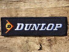 A072 Wappen Patch Aufnäher Toppa Heißklebend Dunlop Moto Motard Supermotorrad