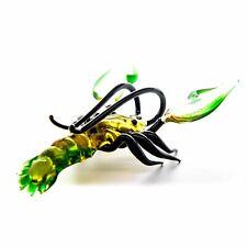 "Glass Ð¡rayfish Animal Figurine, Handmade Hand Blown Art Glass Sea Animal 5"""