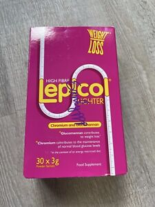 Lepicol Lighter For weight Loss 30 X 3g Powder Sachets dated 07/21. FREE P+P