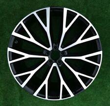 "Genuine Volvo XC60 22"" Split Spoke Diamond  Gloss Black Alloy Wheel 31454682"