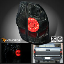 For 2005-2015 Toyota Tacoma Base X-Runner Smoke Lens LED Rear Tail Brake Lights