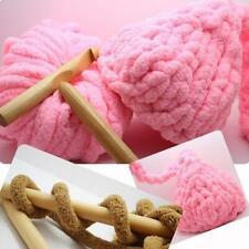 15/20/25/30mm Wooden Crochet Hooks Knitting Needles Sewing Tool New Q0H3
