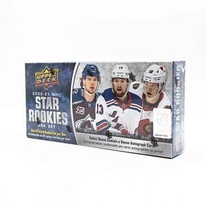 2020/21 upper deck star rookies Box (hockey Nhl Cartes)