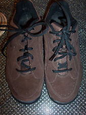 RYKA brown suede oxford athletic shoes in very good condition size 7W.