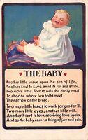 The Baby 1911 Comic Postcard by Bamforth & Co England Series 111