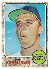 1968 Topps Baseball #57 Dan Schneider NM-MT FREE shipping! Look!