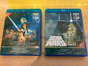 Star Wars Ep. 4 5 6 Single OR Double sets on Blu-Ray & 1977 Holiday Special DVD