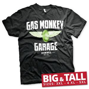 Officially Licensed Gas Monkey Garage - Speed Wheels 3XL, 4XL, 5XL Men's T-Shirt