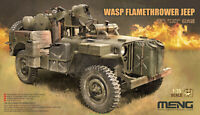 Meng Model  VS-012 1/35 VELOCIRAPTOR SERIES WASP FLAMETHROWER JEEP 2019 NEW