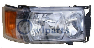 SCANIA P,G,R,T SERIES HEADLIGHT RH WITH LED OUTLINE MARKER 2003>