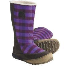NEW Womens Sorel MacKenzie Slip Holiday Tall Fleece-Lined Royal Purple Boots 6
