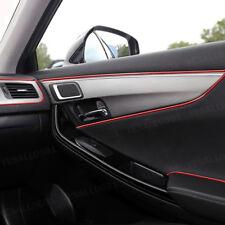 5M Red Flexible Car Panel Gap Interior Molding Trim Decorate Strip Filler