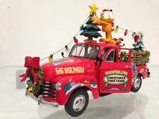 Garfield The Cat's Christmas Tree Farm Chevy Truck