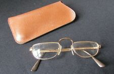 Mens Womens metal Rimmed Reading Glasses Vintage oval