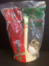 NEW Vintage GEM Single Plastic Christmas Candle Electric Drip Ivory NIP Sealed