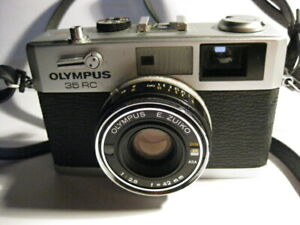 OLYMPUS 35RC 35mm RANGEFINDER CAMERA WITH E.ZUIKO 1:2,8 P=42mm LENS