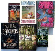 Barbara Michaels - Lot of 6 Romantic Suspense Novels - All Brand NEW