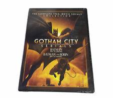 Gotham City Serials Batman Batman & Robin - New, Factory Sealed