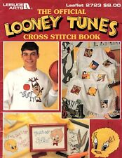 Leisure Arts - The Official Looney Tunes Cross Stitch Book Patterns Vintage 1995