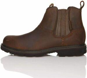 Skechers Men's Blaine Orsen Ankle Boot Comfort Walking Casual