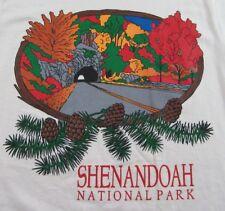 Nos Vintage 80's Shenandoah National Park Vacation Souvenir T Shirt Sz S (Nwot)