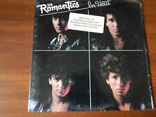 VINYL LP ROMANTICS -IN HEAT  NEMPEROR REC. 1983 BL-38880  PIC SLEEVE/SHRINK WRAP