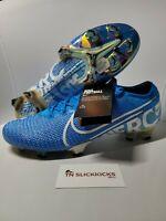 Nike Mercurial Vapor 13 Elite FG Blue Hero Soccer Cleats AQ4176-415 Mens Sz 12.5