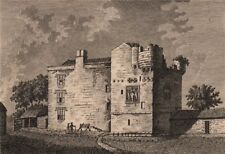 COCKLE PARK TOWER, Northumberland. GROSE 1776 old antique print picture