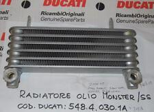 2006-07 DUCATI Paul Smart S2R Sport 1000 OIL COOLER RADIATOR 54840301A=54840303A