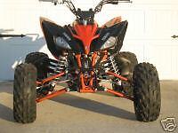 Yamaha Raptor 250 Widening Kit  w/ Brake lines ATV Quad