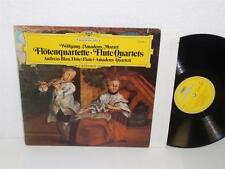ANDREAS BLAU AMADEUS QUARTET Mozart Flute Quartets LP Deutsche 2530 983 Germany