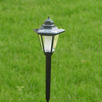 5W Solar Power LED Hexagonal Lamp Garden Yard Lawn Light Outdoor Spotlight NEW
