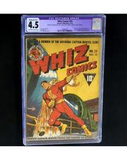 Whiz Comics #25 (Fawcett 1941) 💥 CGC 4.5 Restored 💥 1st App Captain Marvel Jr!