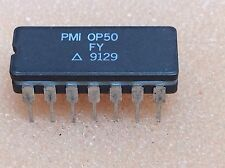 1 pc. OP50FY  PMI  High End OpAmp  CDIP14  NOS