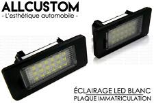 LED ECLAIRAGE PLAQUE IMMATRICULATION BLANC XENON pour BMW E82 SERIE 1 COUPE 07-