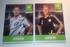 Andries Jonker (VfL Wolfsburg 2012/2013) Fehldruck Vorabdruck Neu-Trainer 16/17