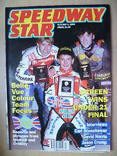 SPEEDWAY Star, 1 MAGGIO 1993-Screen VINCE 21 FINAL-INTERVISTE C Stonehewer, D Norris