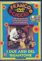 dvd FRANCO FRANCHI & CICCIO INGRASSIA - I DUE ASSI DEL GUANTONE nuovo 1971