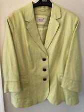 marks and spencer PerUna Size 22 Linen Jacket