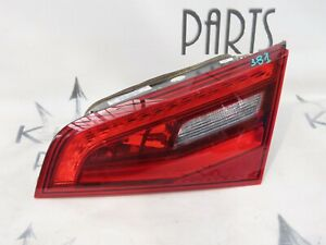 AUDI A3 2013-2016 DRIVER SIDE REAR INNER BOOT TAIL LIGHT LAMP 8V4945094A #381