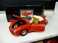 1:18 Schuco PORSCHE 356 Carrera Convertible red NEW FREE SHIPPING WORLDWIDE