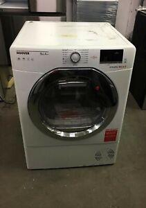 Hoover DXH9A2DCE-80 Freestanding 9kg Aquavision Heat Pump Tumble Dryer