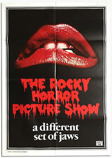 Affiche 69x104cm THE ROCKY HORROR PICTURE SHOW (1975) Curry, Sarandon TBE
