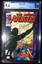 Avengers #242 (1984) CGC 9.6...Mockingbird app.