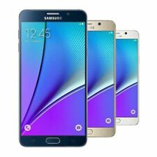 Samsung Galaxy Note5 SM-N920P 32 GB  Gold (Sprint) 9/10 Heavy Burn Image
