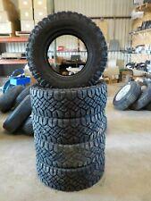 Set Of Five Goodyear Wrangler Duratrac Lt28570r17 121o Ms Tires Dot 2519