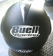 STICKER AUTOCOLLANT BUELL RACING CASQUE MOTO AMERICAN MOTORCYCLES