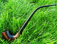 "Wooden Tobacco Pipe "" Sherlock  Holmes "" Smoking Handcraft Good Gift for MEN"