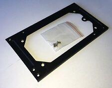 ATX zu SFX Netzteil Adapter Rahmen Blende Einsatz PC-Netzteil aus Metall SCHWARZ